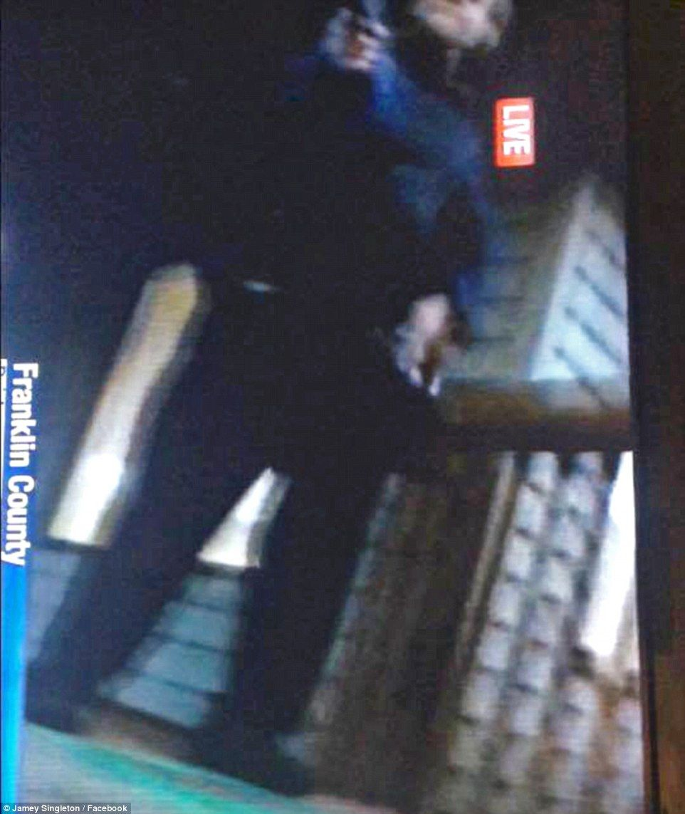 CNN anchor murderer from Daily Mail