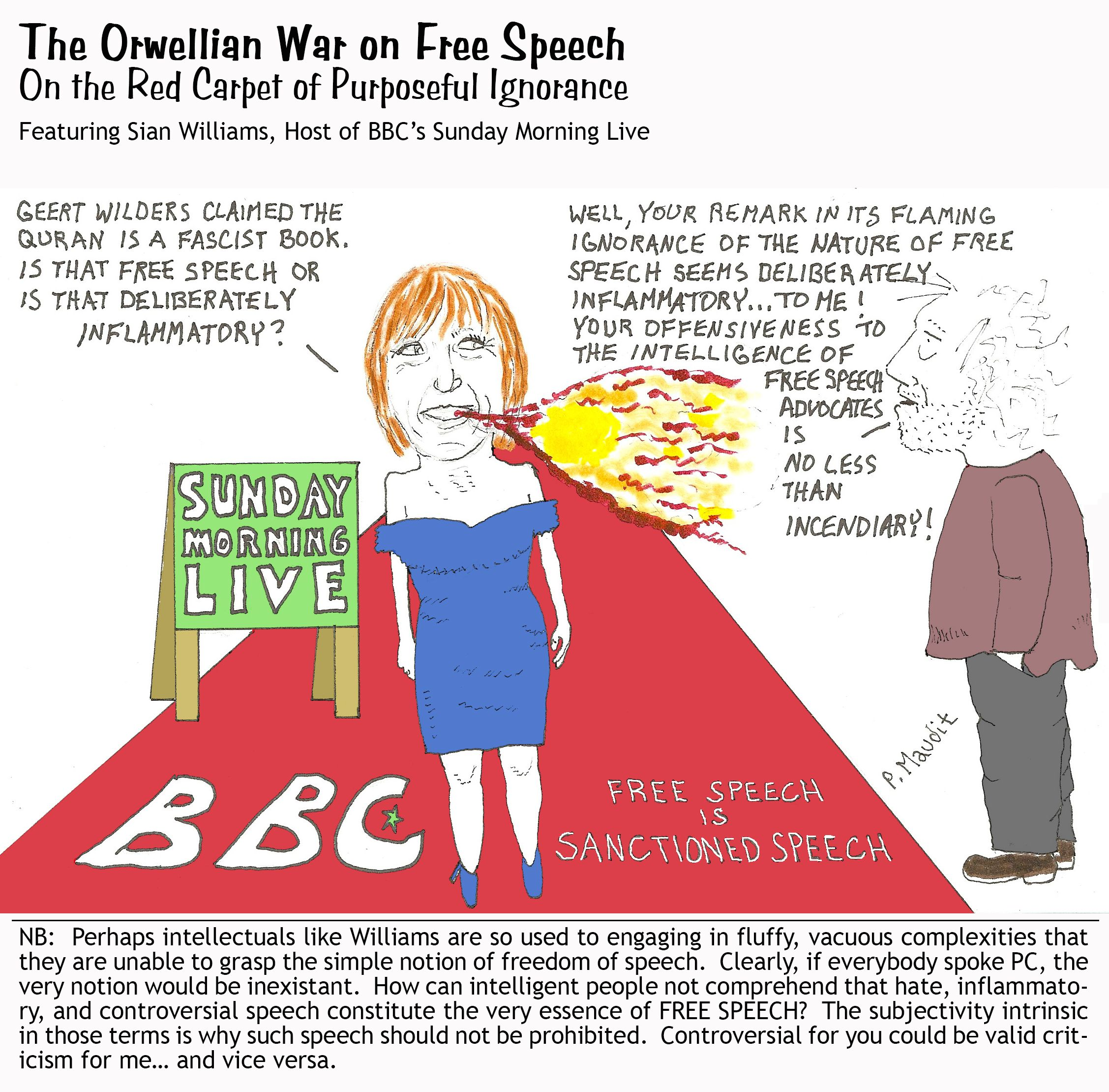 Free Speech-BBC-Sian Williams
