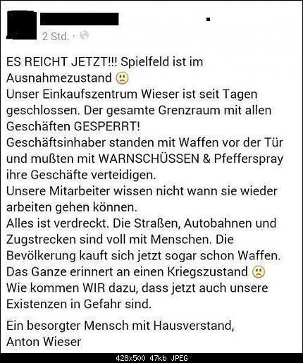 Austria FB post