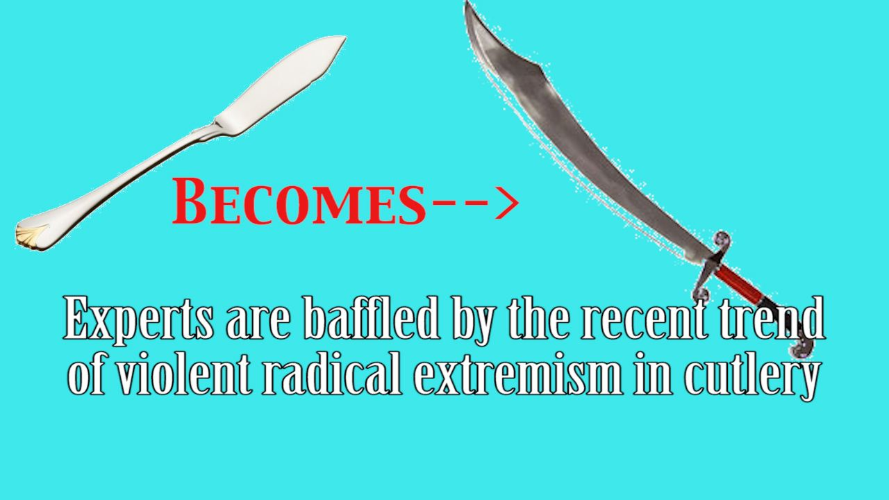 cutlery extremism