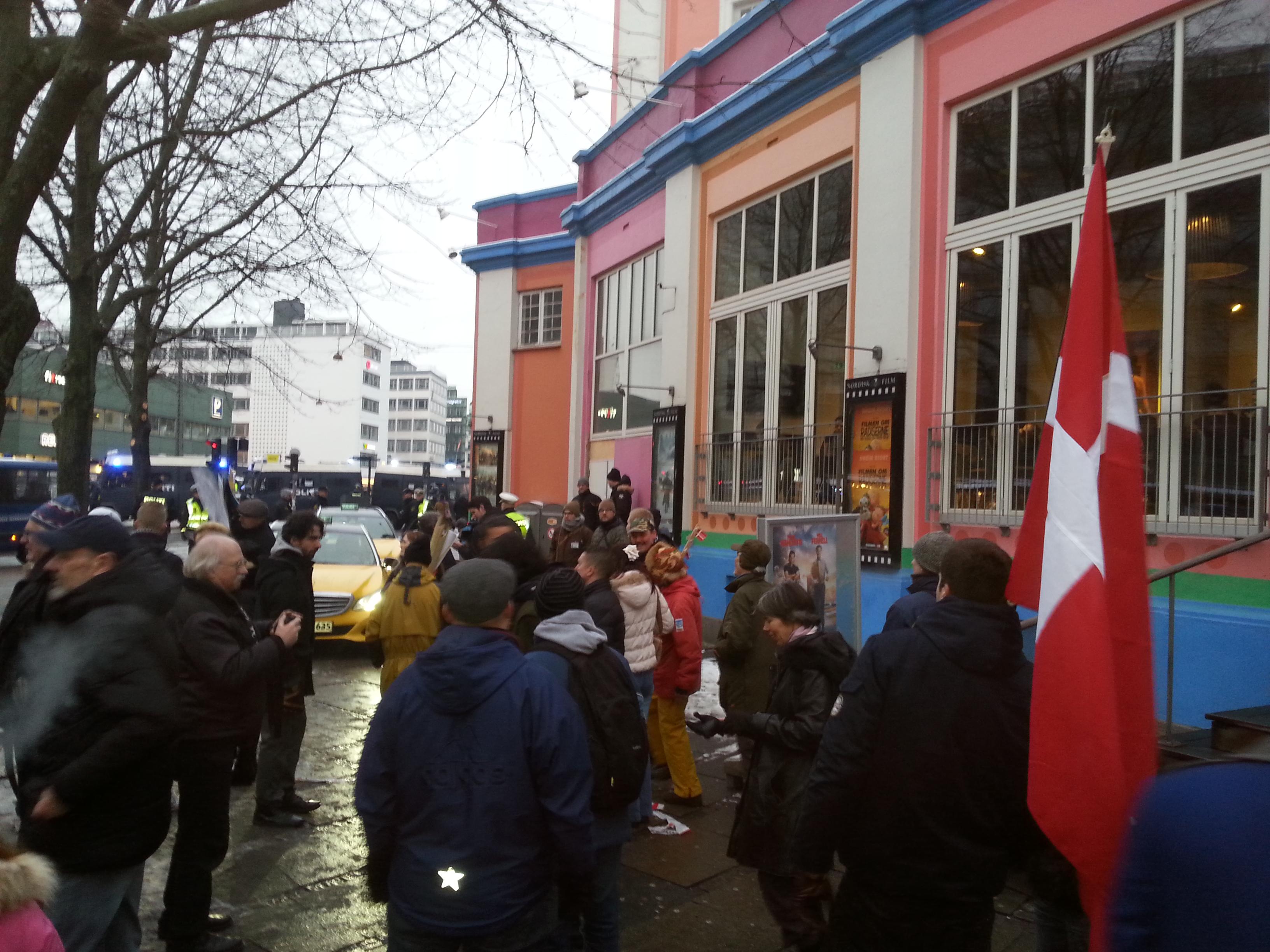 Copenhagen PEGIDA march