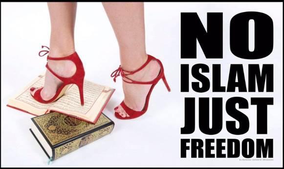 No islam just freedom Geert