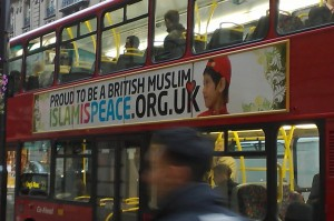 One of the busses Muslims blew up in London