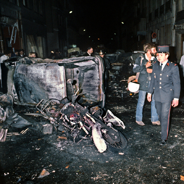 Paris bombing aftermath