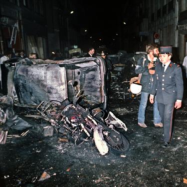 Paris bombing aftermath
