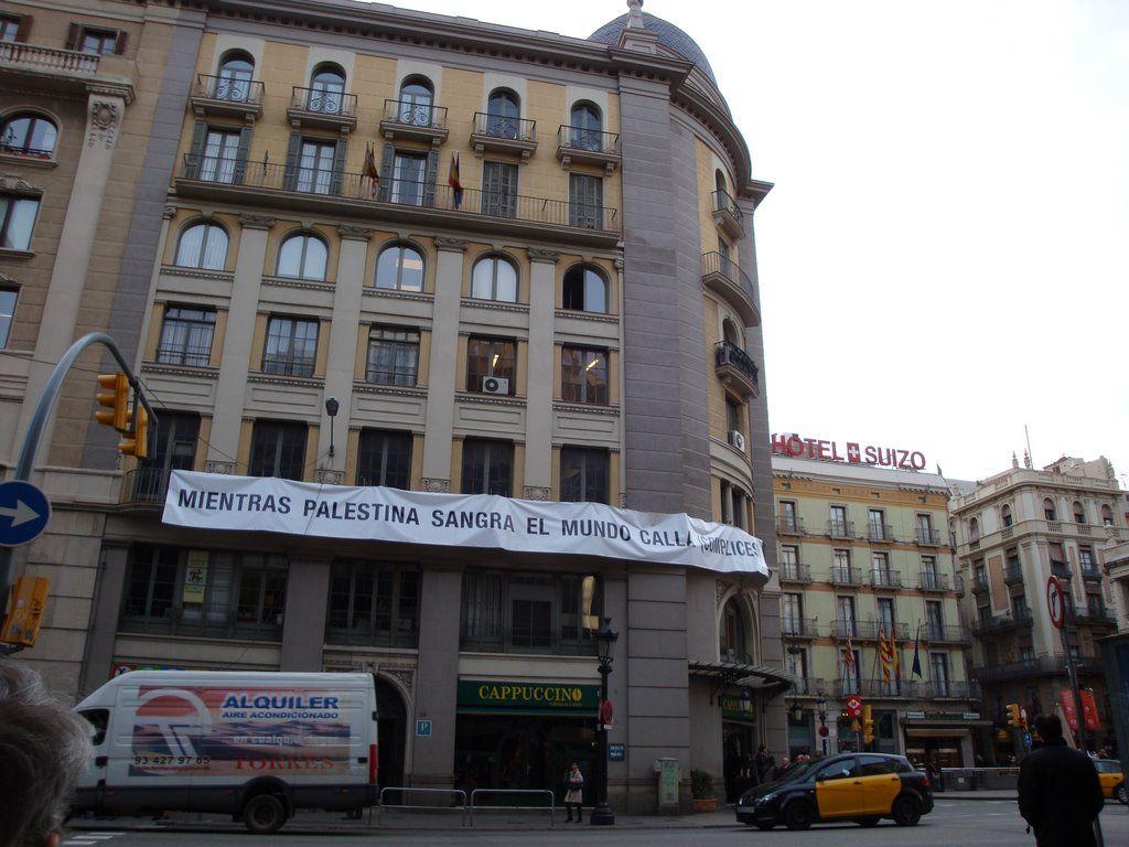 Sign in Barcelona