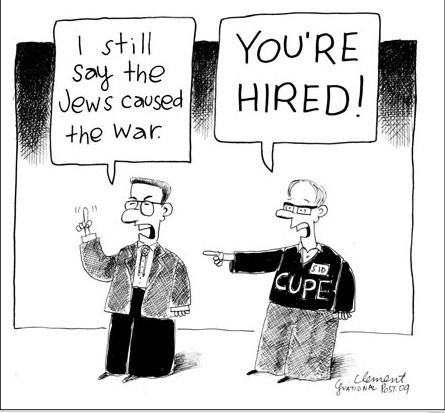 Cartoon from the National Post Online
