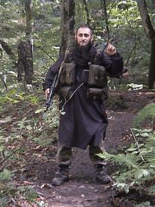 Chechen Muslim points to ringleader