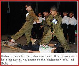training Palestine kids to be terrorists