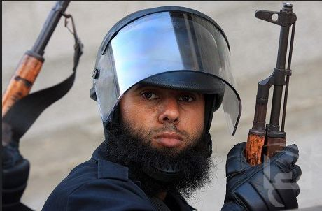 Hamas security personell