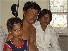 Hameed family. Father, son and relative.