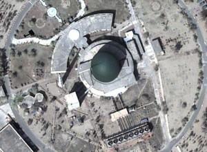 Pakistan's plutonium production reactor at Khushab.