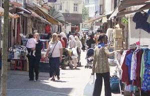 Muslim area Brussels