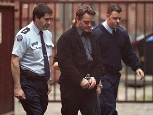 Convicted terror supporter Shane Kent is taken to court for sentencing. Picture: Stuart McEvoy