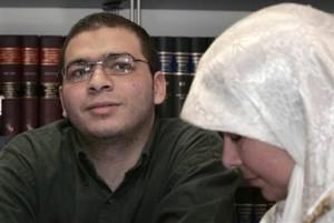 A 2005 file photo of Abdullah Khadr and his mother Maha Elsamnah Khadr