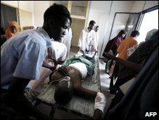 Medina hospital is vital to Mogadishu's war-torn population