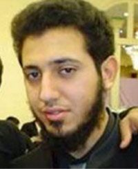 Zakaria Amara, 24, pleaded guilty Thursday to participating in a terrorist group and intending to cause an explosion for the benefit of a terrorist group. (Stringer/Reuters)