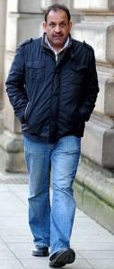 Businessman Aurang Zeb outside Blackburn magistrates court this week