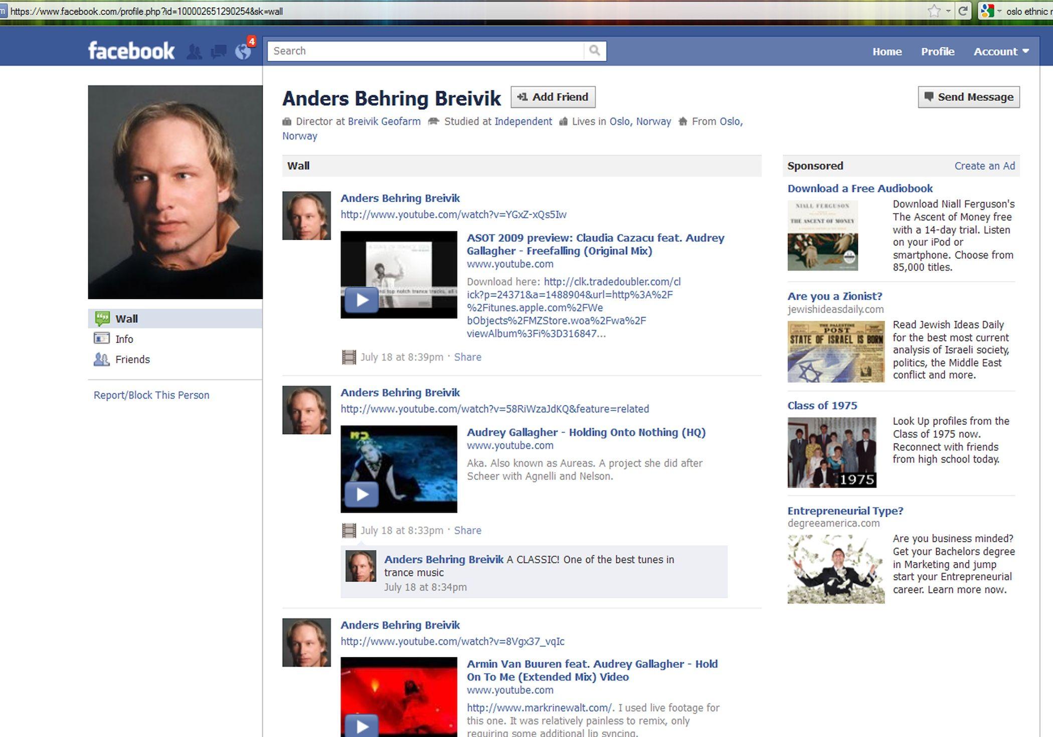 Anders facebook page – Vlad Tepes