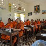 Class at a  Buddhist school (file photo)