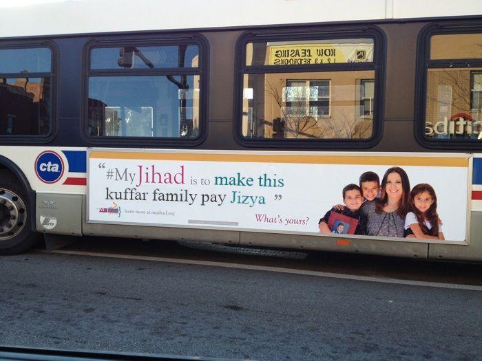 CAIR bus ad jizya