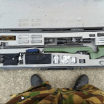 This is the army rifle used by Damir A on Facebook for bragging purposes.