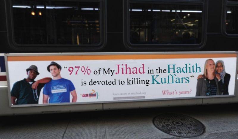 cair bus ad hadith kuffar