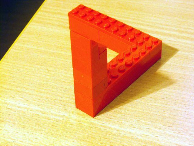 leggo penrose triangle
