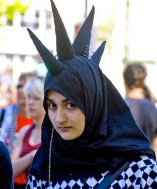 Punkasaurous or Hijabi Mohawk
