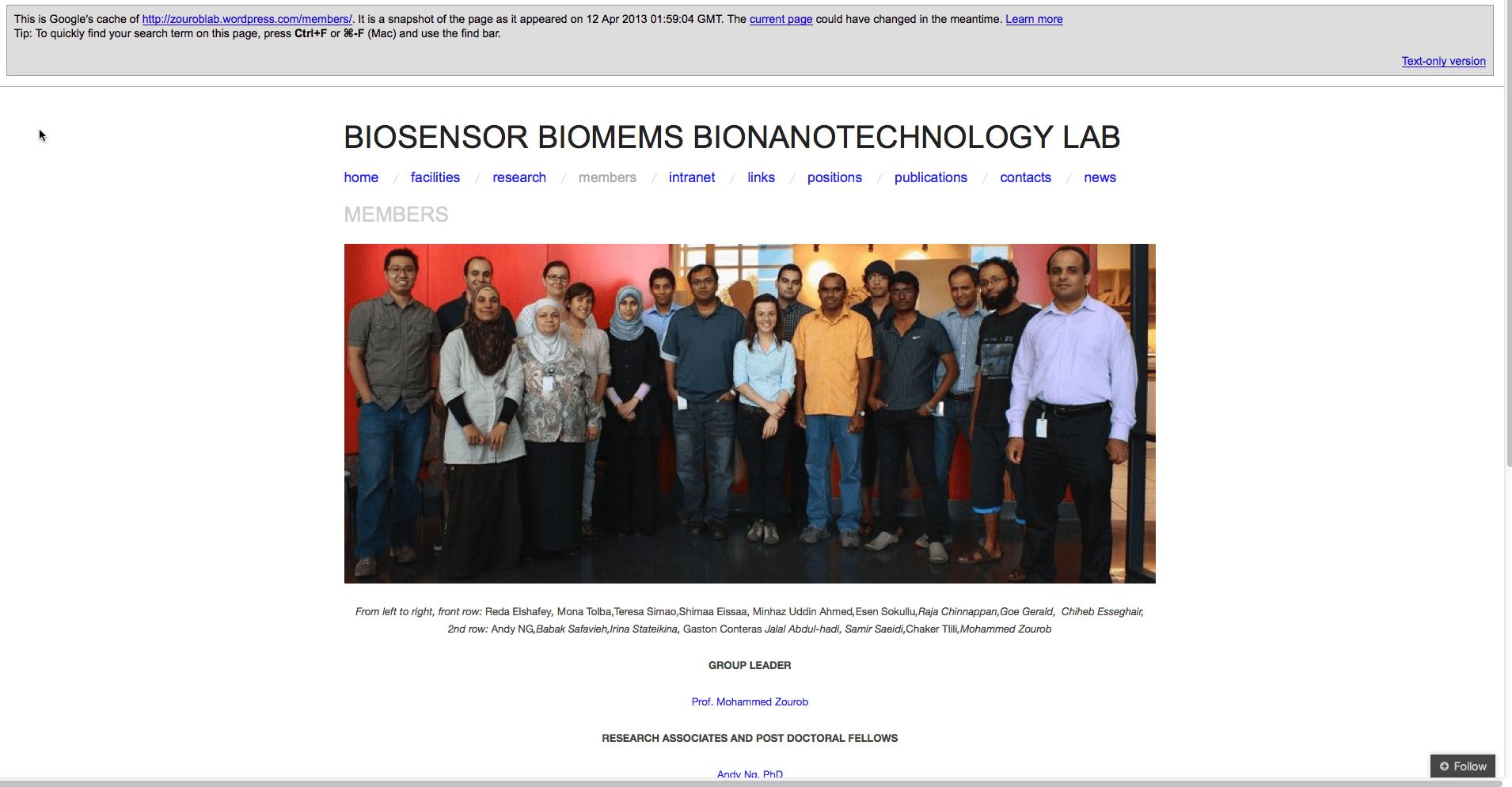 Biotech lab with terrorist employee