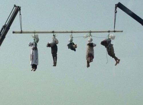 Saudis publicly hang group for murdering Saudi national