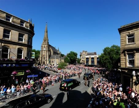 Lee Rigby crowd shot day before funeral