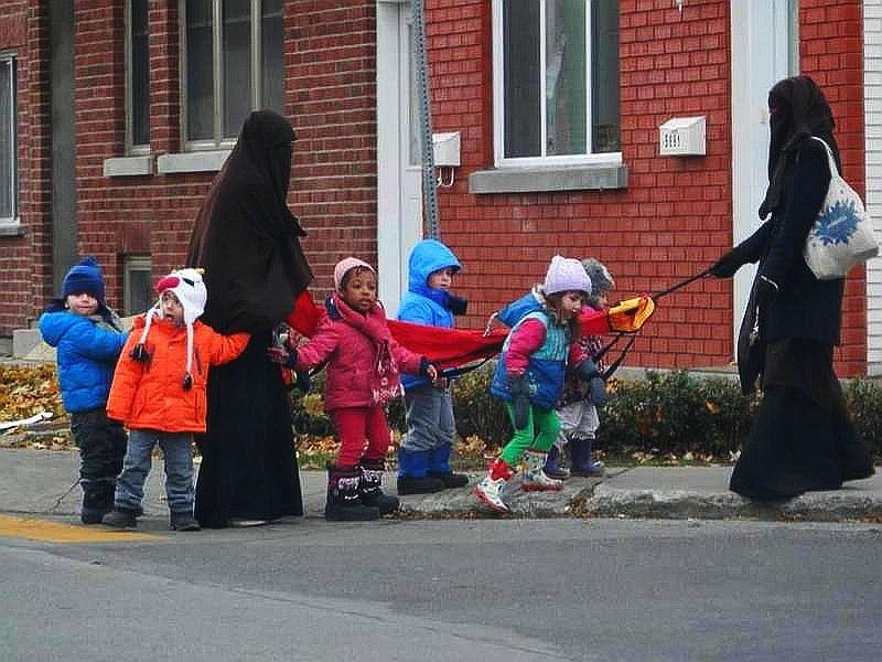 burka day care tards