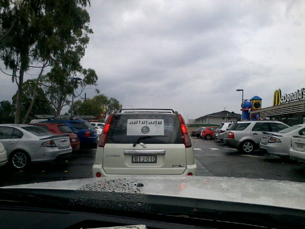 AQ Flag in Oz McDonalds
