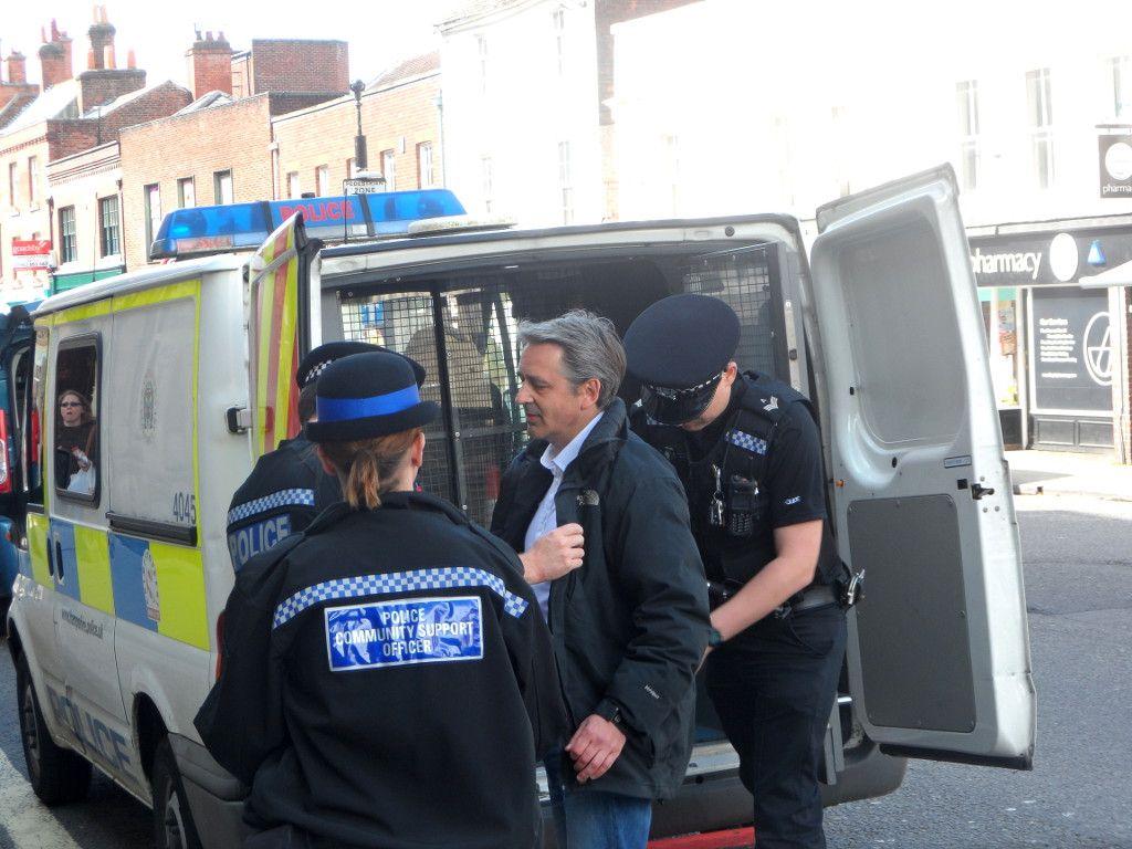 Paul Weston arrested
