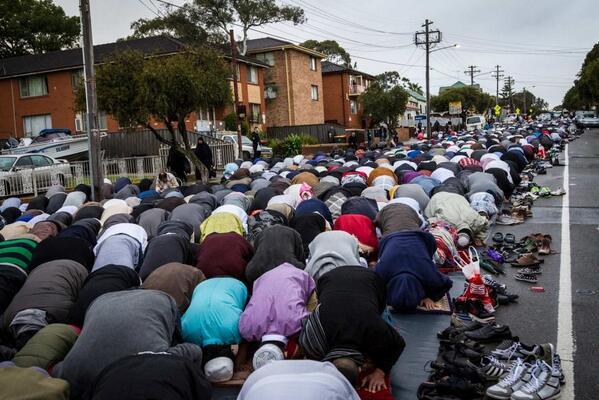 Street prayers Oz