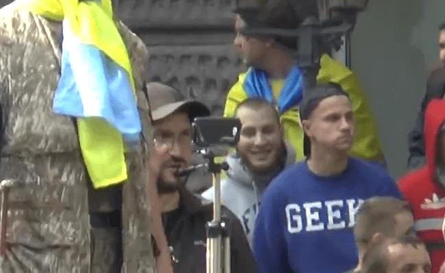 Ukraine jihadi smile