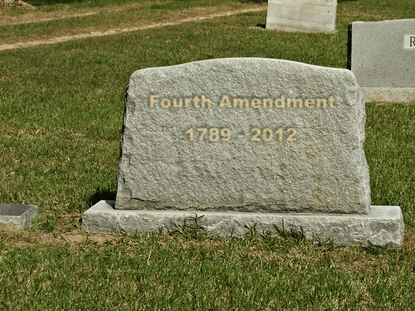 4th mendment tombstone