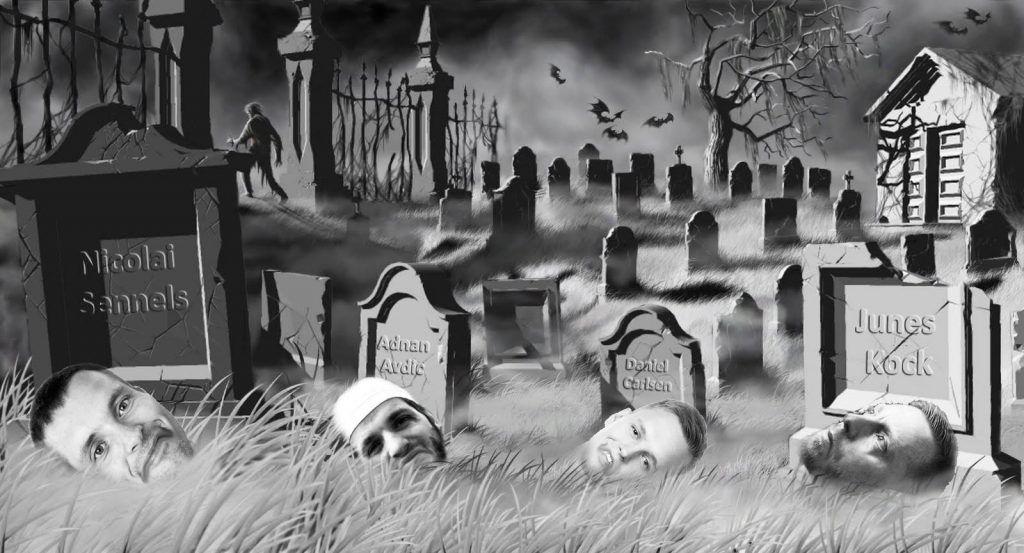 Nicolai Sennels graveyard