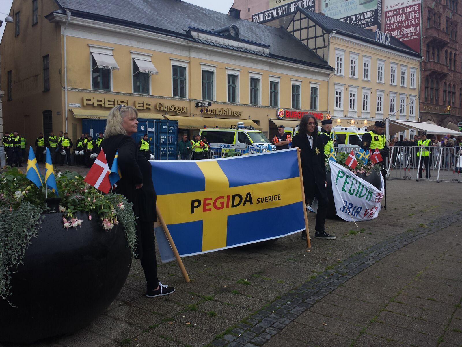 sweden PEGIDA